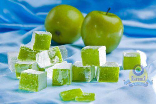 Лукум яблочный